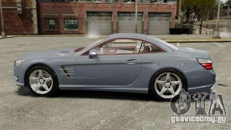 Mercedes-Benz SL500 2013 для GTA 4 вид слева