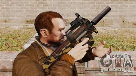 Бельгийский пистолет-пулемёт FN P90 v6 для GTA 4