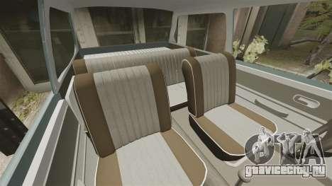 Volkswagen Brasilia для GTA 4 вид сбоку