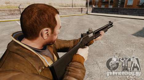 Тактический дробовик Fabarm SDASS Pro Forces v4 для GTA 4 второй скриншот