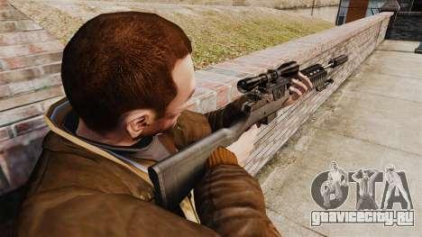 Снайперская винтовка M21 v1 для GTA 4 второй скриншот