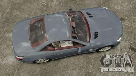 Mercedes-Benz SL500 2013 для GTA 4 вид справа