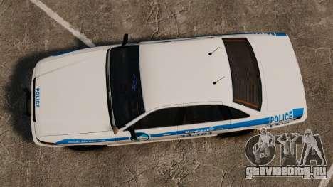 Полиция Монреаля v1 для GTA 4 вид справа