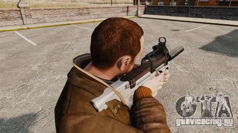 Бельгийский пистолет-пулемёт FN P90 v3 для GTA 4 второй скриншот
