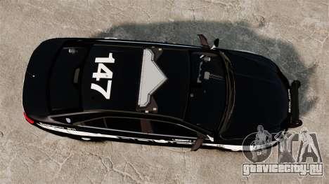 Ford Taurus Police Interceptor 2013 LCPD [ELS] для GTA 4 вид справа
