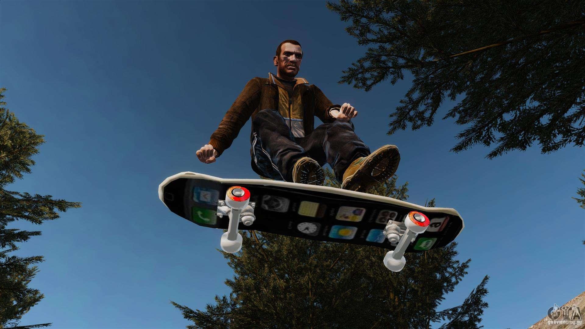 Гта сан андреас скачать мод на скейт