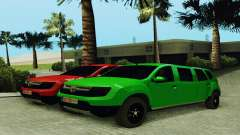 Dacia Duster Limo для GTA San Andreas