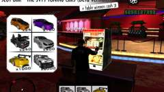 Slot BAR The JVTs tuning cars для GTA San Andreas