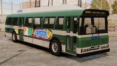 Новая реклама на автобус