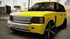 Land Rover Range Rover Gold Vossen для GTA San Andreas