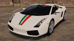 Lamborghini Gallardo 2005 [EPM] Italian для GTA 4