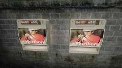 Новый торговый автомат по продаже сигарет