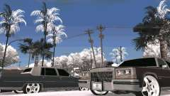 Winter Color Mod для GTA San Andreas