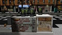 Энергетический напиток Monster Energy для GTA 4