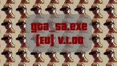 Оригинальный файл gta_sa.exe [EU] v.1.00