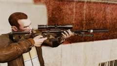 Снайперская винтовка AW L115A1 с глушителем v10
