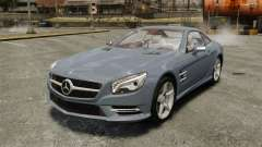 Mercedes-Benz SL500 2013 для GTA 4