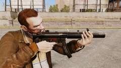 Пистолет-пулемёт MP5SD v5 для GTA 4