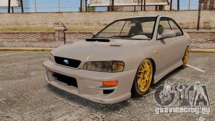 Subaru Impreza WRX STI 1999 [Final] для GTA 4