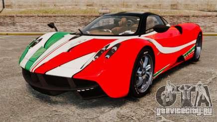 Pagani Huayra 2011 [EPM] Italian для GTA 4