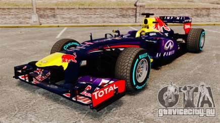 Болид Red Bull RB9 v1 для GTA 4