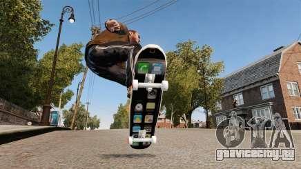 Скейтборд iPhone для GTA 4