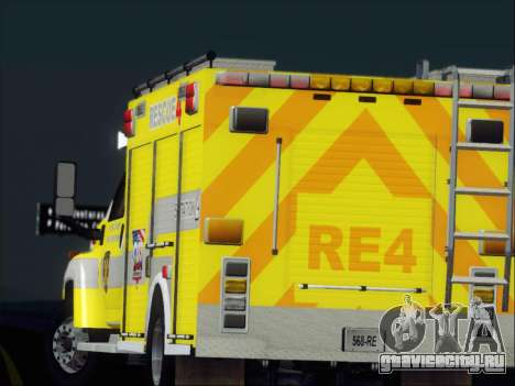 GMC C4500 Topkick BCFD Rescue 4 для GTA San Andreas колёса