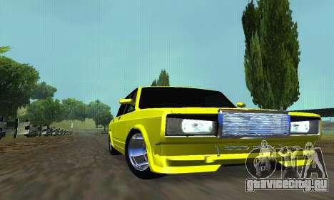 ВАЗ 2107 VIP для GTA San Andreas вид сбоку