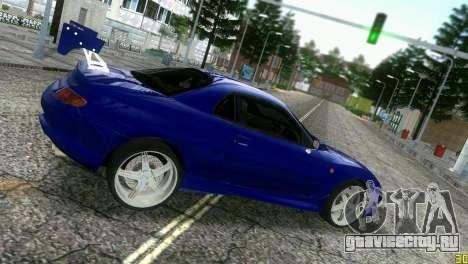 Mitsubishi FTO для GTA Vice City вид сзади