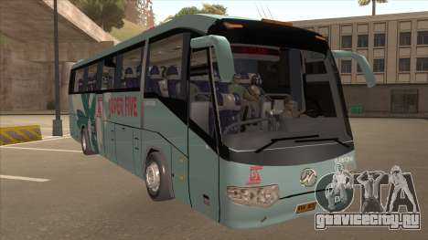 Higer KLQ6129QE - Super Fice Transport S 020 для GTA San Andreas вид слева