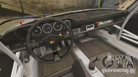 Porsche 911 RSR 3.3 для GTA 4 вид изнутри