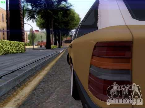 Mercedes-Benz E-Class W124 для GTA San Andreas вид справа