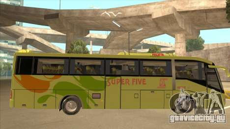 Higer KLQ6129QE - Super Five Transport S 023 для GTA San Andreas вид сзади слева