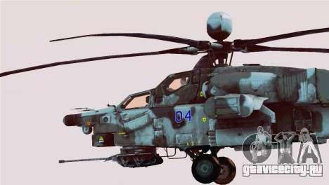 Mi-28N Havoc для GTA San Andreas вид слева
