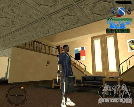 C-Hud for SA:MP для GTA San Andreas второй скриншот