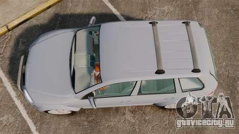 Volkswagen Touareg 2002 для GTA 4 вид справа