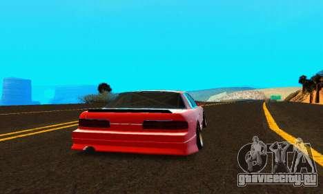 Nissan Silvia S13 HellaDrift для GTA San Andreas вид справа