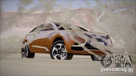 Lada X-Ray для GTA San Andreas вид справа
