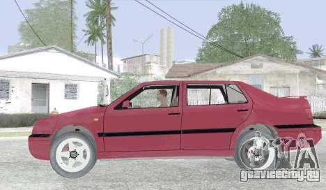 Volkswagen Vento для GTA San Andreas вид слева