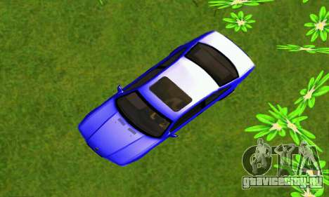 BMW E36 Low and Slow для GTA San Andreas вид сзади