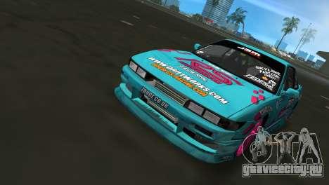 Nissan Silvia S13 Drift Works для GTA Vice City вид сзади
