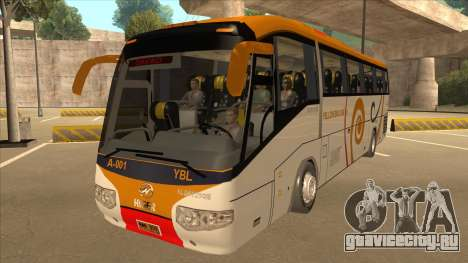 Higer KLQ6129QE - Yellow Bus Line A-001 для GTA San Andreas
