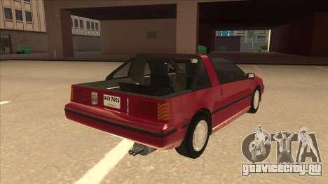 Nissan EXA L.A. Version для GTA San Andreas вид справа
