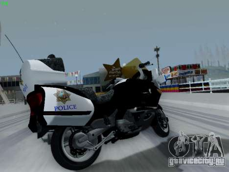 BMW K1200LT Police для GTA San Andreas