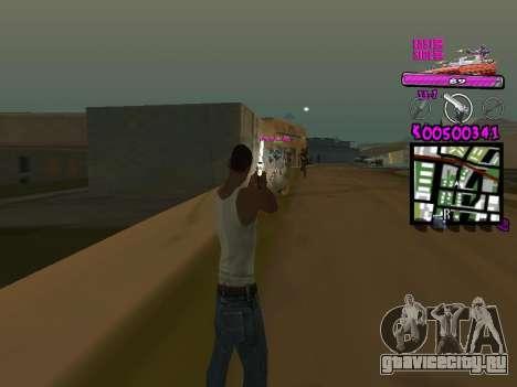 C-HUD by Kerro Diaz [ Ballas ] для GTA San Andreas