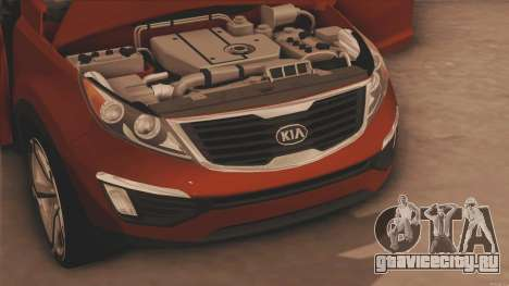 Kia Sportage для GTA San Andreas вид сзади слева