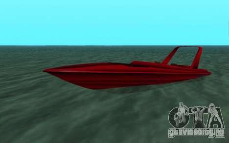 Vice City Squallo II для GTA San Andreas вид слева