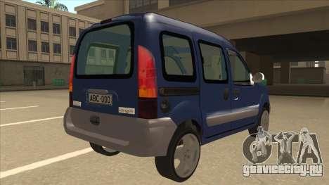 RENAULT KANGOO v2 для GTA San Andreas вид справа