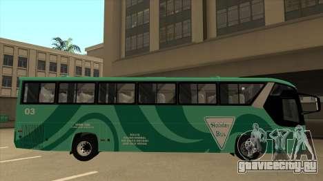 Holiday Bus 03 для GTA San Andreas вид сзади слева