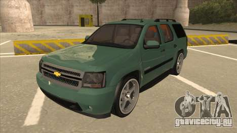 Chevrolet Tahoe Sound Car The Adiccion для GTA San Andreas